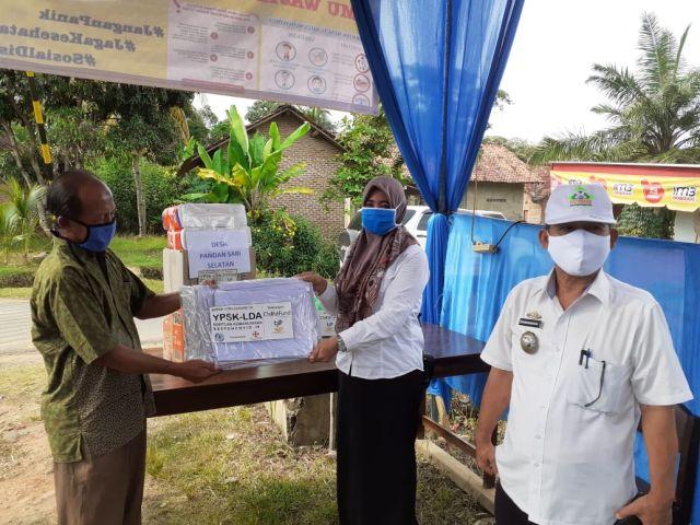 Camat Sukoharjo Kunjungi Pos Tanggap Covid 19 Pekon