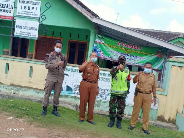 Pemantauan PPKM Kecamatan Sukoharjo