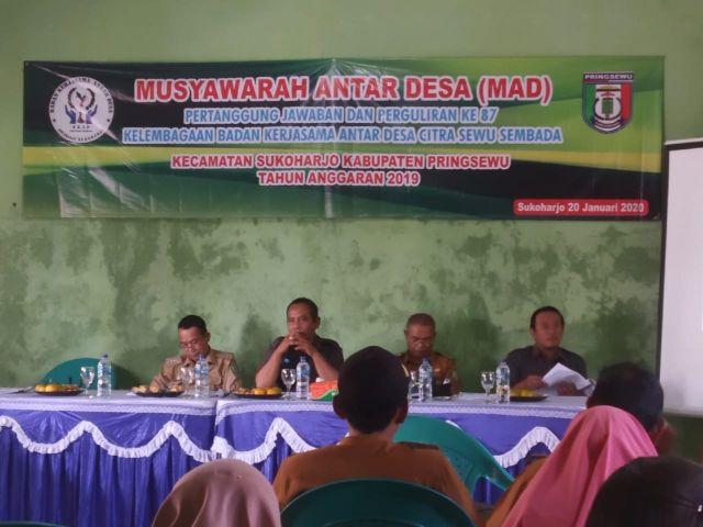 MAD dan Pertanggungjawaban Perguliran BKAD Citra Sewu Sukoharjo