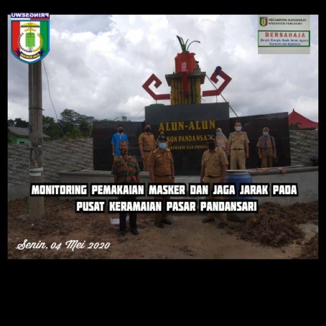 Kunjungan Tim Gugus Tugas Kabupaten - Kecamatan